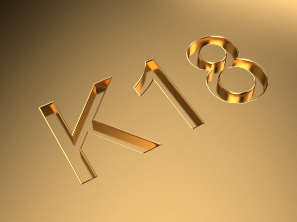 K18刻印のイメージ